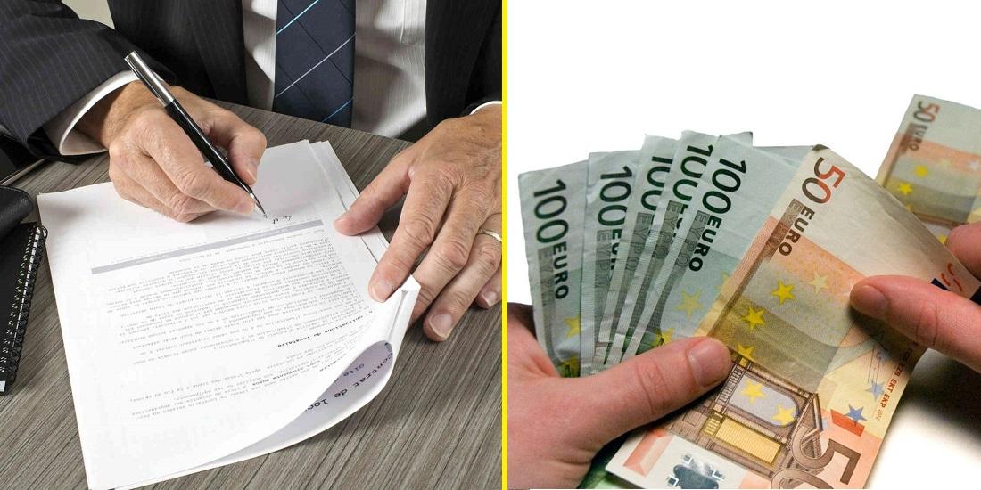 Деньги под расписку от частного лица чита