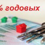 Ипотечный кредит под 6 процентов годовых